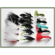 18 Lures, Baby Doll, Viva,Ace,Marabou's