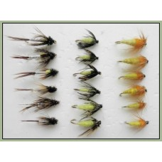 18 Nymph Flies, Hatching,Caddis and Amber