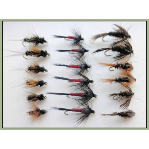 Iron Blue Nymphs Fishing flies Trout flies Choice of sizes 6 Pack