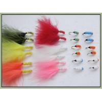 24 Beaded Nymph and Buzzer - Mixed