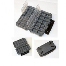 Game Master 24 Compartment Clear Lid Box