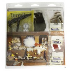 TURRALL beginners Tying Kit- Materials & tools