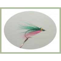 Popeye Clouser - Pink and Green
