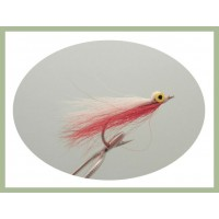 Popeye Clouser - Red and White