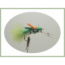 Green Marabou Foam  Bug