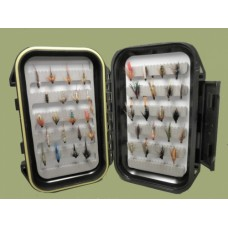 40 Wet and Nymph Flies Boxed Set