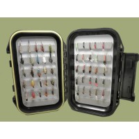 50 Buzzer and Nymph Flies Boxed Set
