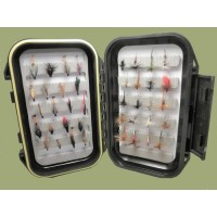 40 Wet and Dry Flies Boxed Set