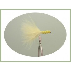 Yellow Beaded Marabou