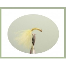 Goldhead Copper buzzer - Yellow  Marabou
