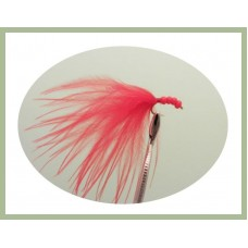 Red Beaded Marabou