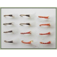 12 Goldhead Buzzer - Glass Epoxy Orange and Gold
