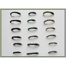 18 Flexi Buzzer - Black Green and Olive
