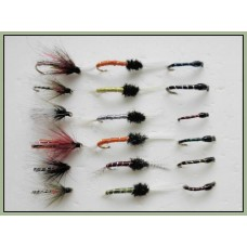 18 Flies, Emerger,Crisp Packet &,Buzzers