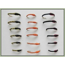 18 Buzzers - Black/Red ,Tiger and Orange