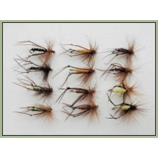 12 Hopper Flies - Mixed Colours