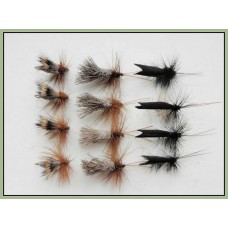 12 Sedge Dries, Black Horn, Deer & G & H
