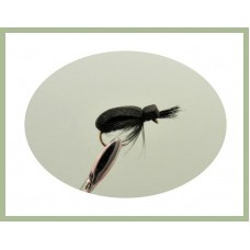 Barbless Black Beetle