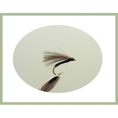 Trout Flies 6 Pack of Olive Vibe Tails Size 10 hook Vibe Tails Fishing Flies