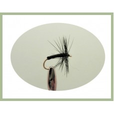 Black Spider Dry Fly