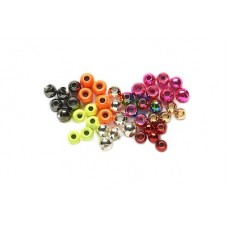 Countersunk Tungsten Coloured Beads