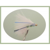 Beaded Blue Flash Cats Whiskers