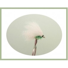 Mini Cats Whiskers - White & Green Fritz