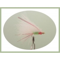 Beaded Red Flash Cats Whiskers