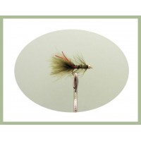 Mini Goldhead Flash Damsel - Olive/Red