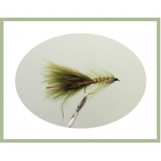 Flash Damsel - Olive/Red