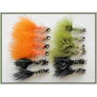 12 Ghost Dog Nobbler - Black, Olive, Orange
