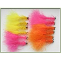12 Dog Nobbler - Orange,Pink and Yellow