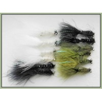 12 Dog Nobbler - Black, White and Olive