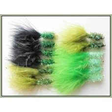 12 Goldhead Fritz,Lime,Olive & Green/Black