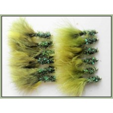 12 Goldhead Fritz,Olive and Olive Variant
