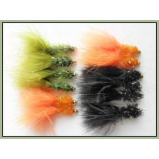 12 Goldhead Fritz, Orange,Black & Olive