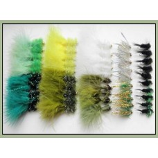 50 Goldhead Fritz Lures with Montanas