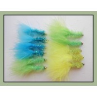 12 Goldhead Fritz - Yellow,Lime & Blue