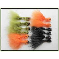 12 Menace Lure - Olive, Orange and Black