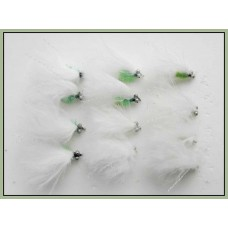 12 Mini Cats Whiskers - White
