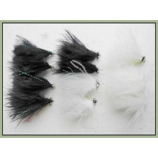 12 Cats Whiskers - Mixed Black and White - Beadeye & GH