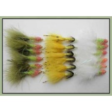 18 Goldhead Special Damsels - White, Sunburst, Deadly