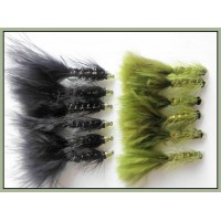 12 Black and Olive Conehead Bullet