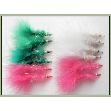 12 Goldhead Nomad - Green White and Pink