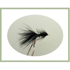 Goldhead Black Woolly Bugger