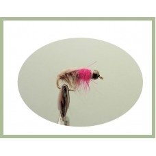 Barbless Tungsten Czech - Pink