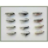 12 Czech Nymph, Black Olive & Brown
