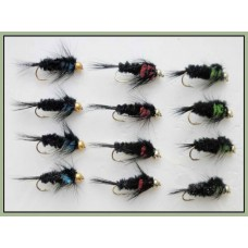 12 Goldhead Montana  Red Green Blue,  - Longshank