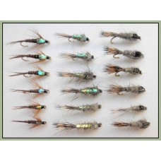 18 Pheasant Tail and Hares Ear flash + Normal
