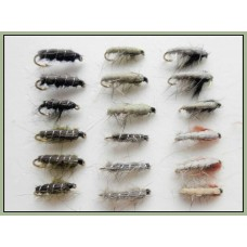 18 Nymph Flies,Czech & Semtex
